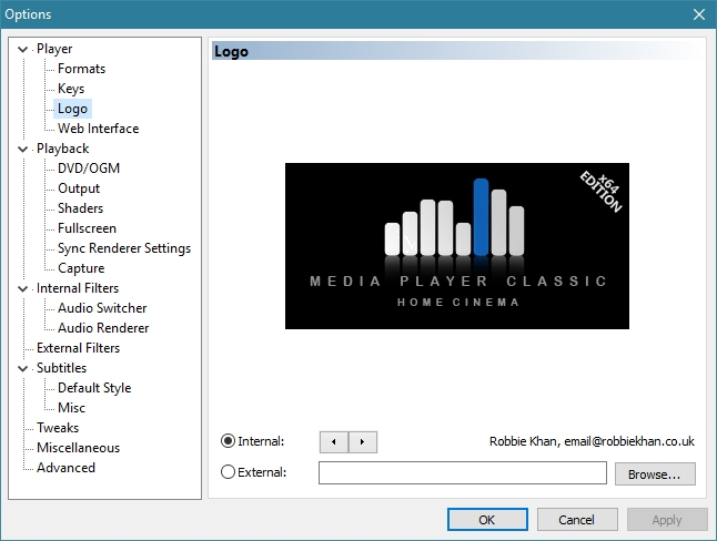 MEDIA PLAYER CLASSIC HC 1.7.10 RECOMMENDED SETTINGS_30-05-2016_21-47-36