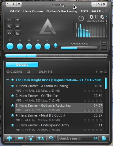 AIMP 3 x – Free Audio Player for Windows OS | Cyber Raiden