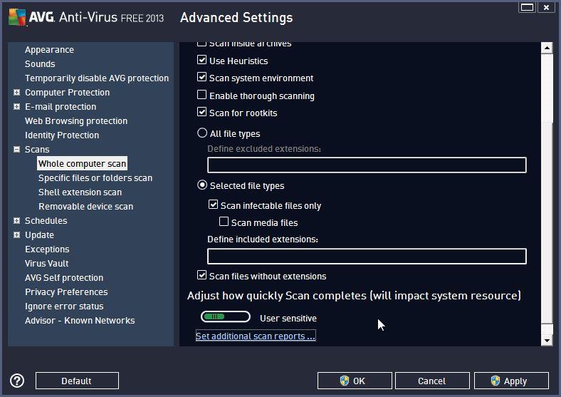 avg free full installation files