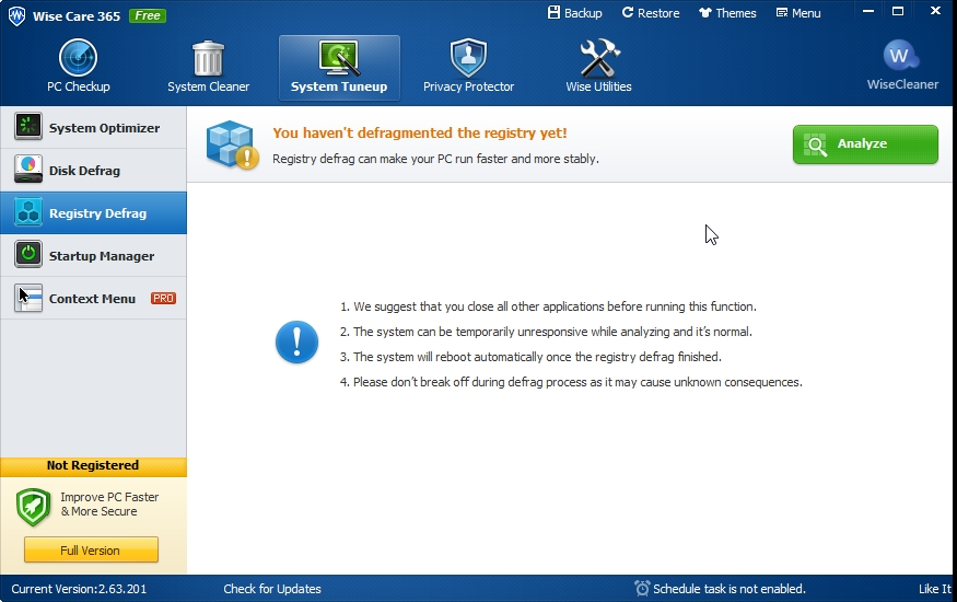 Wise care 365 – free registry,system clean and system optimizer   Cyber Raiden
