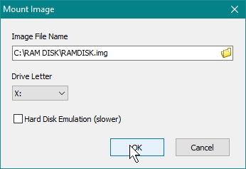 SOFTPERFECT RAMDISK CREATE A RAMDISK WHILE WILL BE MANUALLY MOUNTED, SAVED AND UNMOUNTED_21-07-2016_10-20-37