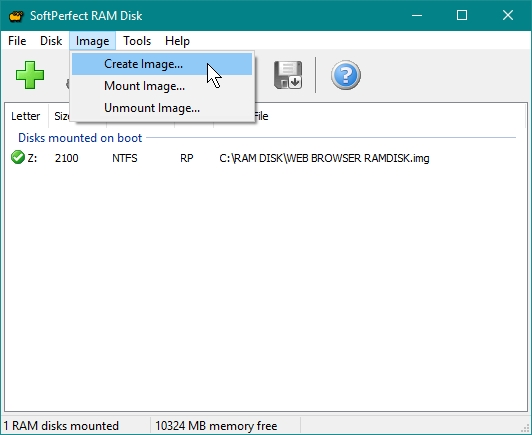 SOFTPERFECT RAMDISK CREATE PERSISTENT RAMDISK WHICH WILL BE MOUNTED AT BOOT UP_21-07-2016_09-46-42