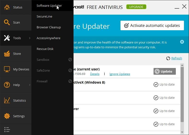 avast antivirus latest version update