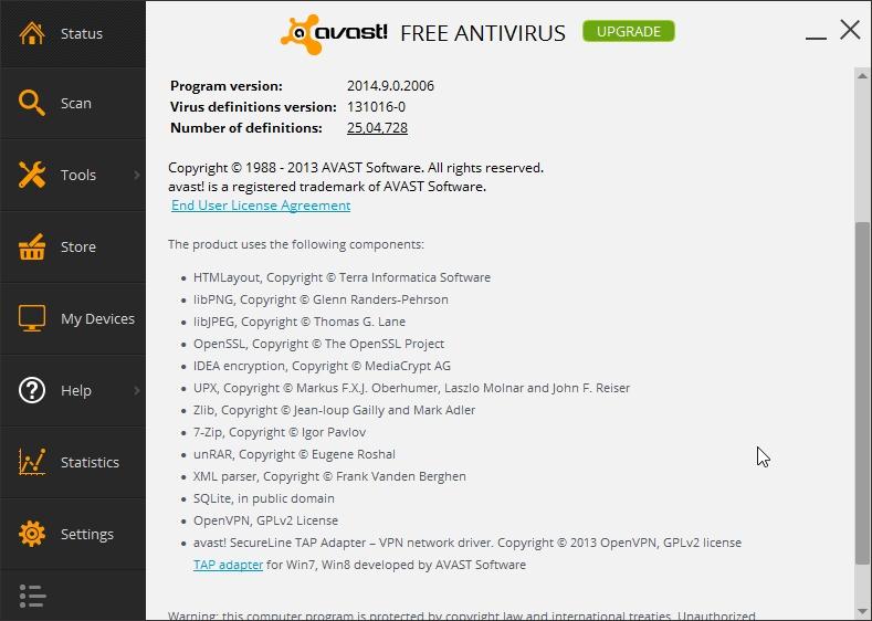 AVAST FREE ANTIVIRUS 2014_019_17102013_000047