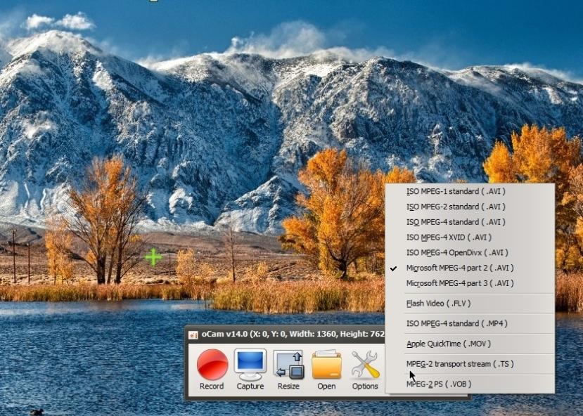 WatFile.com Download Free oCam is free Screen Recorder screenshot – Review + settings | Cyber