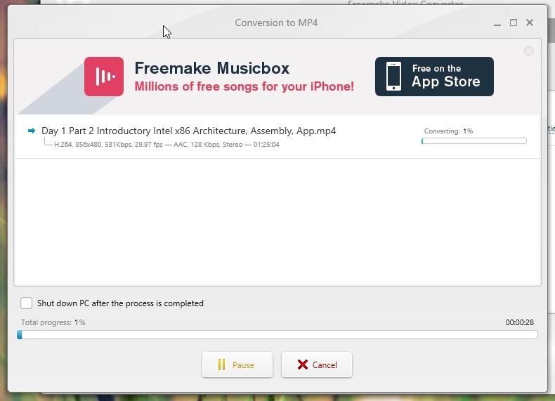 freemake music box offline installer