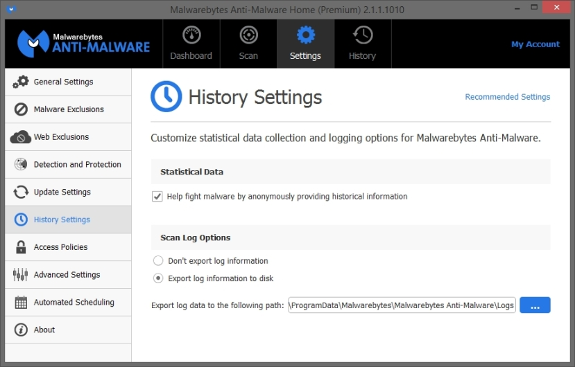 MALWAREBYTES ANTIMALWARE 2.1 SETTINGS_08-03-2015_17-33-49