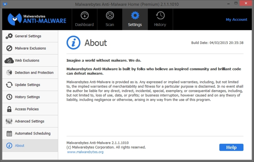 MALWAREBYTES ANTIMALWARE 2.1 SETTINGS_08-03-2015_17-34-20