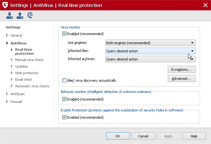 2014-04-05 05_47_59-_G DATA INTERNET SECURITY 2015_Settings _ AntiVirus _ Real time protection