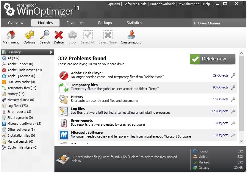 Sistem Optimizasyon,WinOptimizer