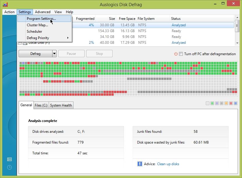 Auslogics Disk Defrag Free | Cyber Raiden