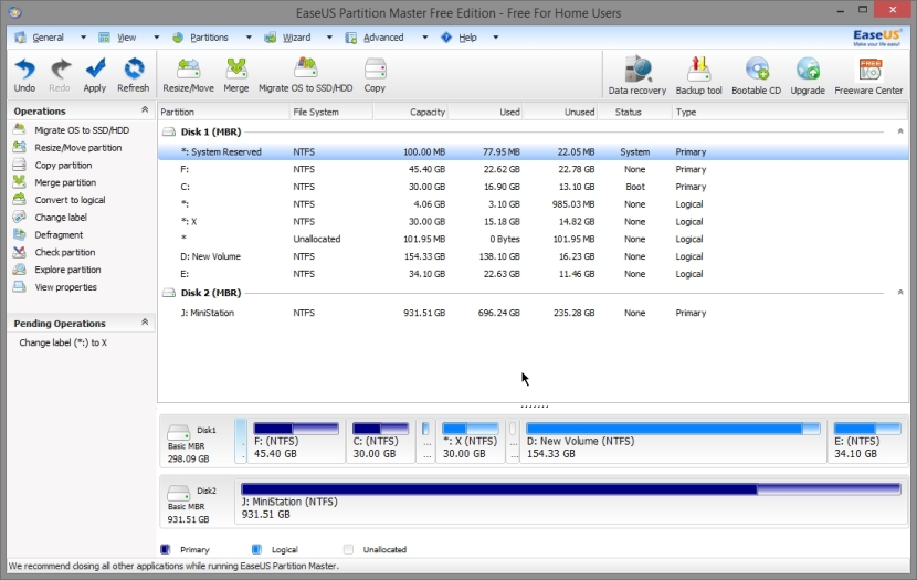 EASEUS PARTITION MASTER FREE 10_019_11042014_010717