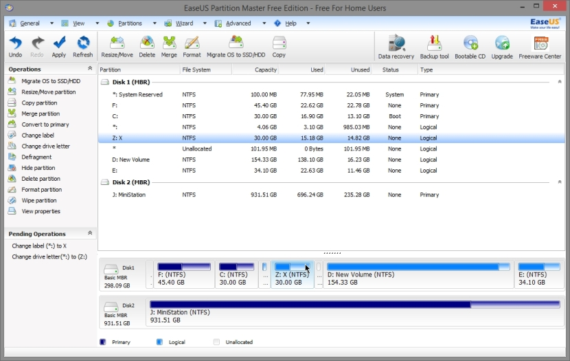 EASEUS PARTITION MASTER FREE 10_022_11042014_010737