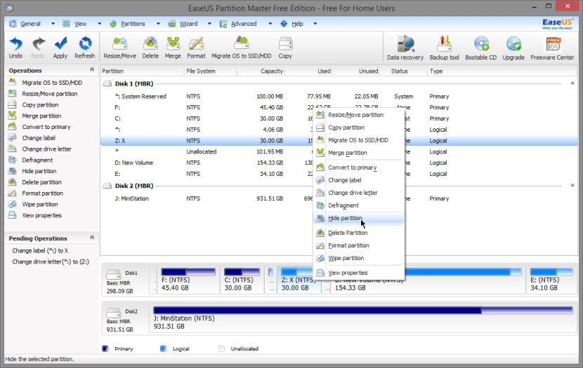 EASEUS PARTITION MASTER FREE 10_023_11042014_010753