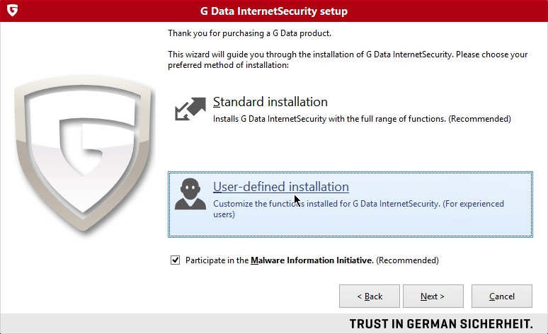 G DATA INTERNET SECURITY 2015 INSTALL_002_15032014_111139