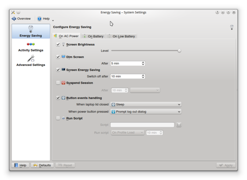 LINUX MINT 16 KDE CONFIG21