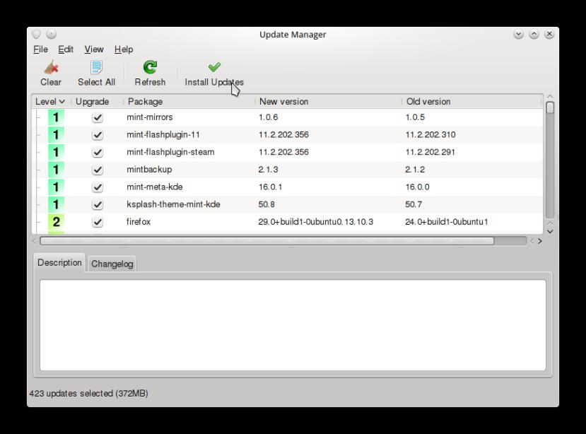 LINUX MINT 16 KDE CONFIG5