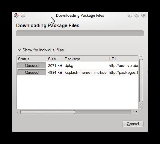 LINUX MINT 16 KDE CONFIG6
