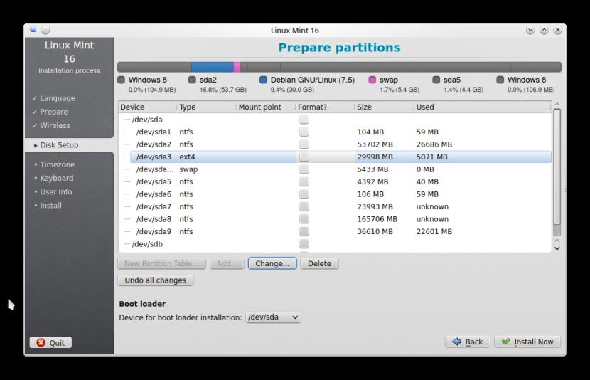 LINUX MINT 16 KDE INSTALLATION5