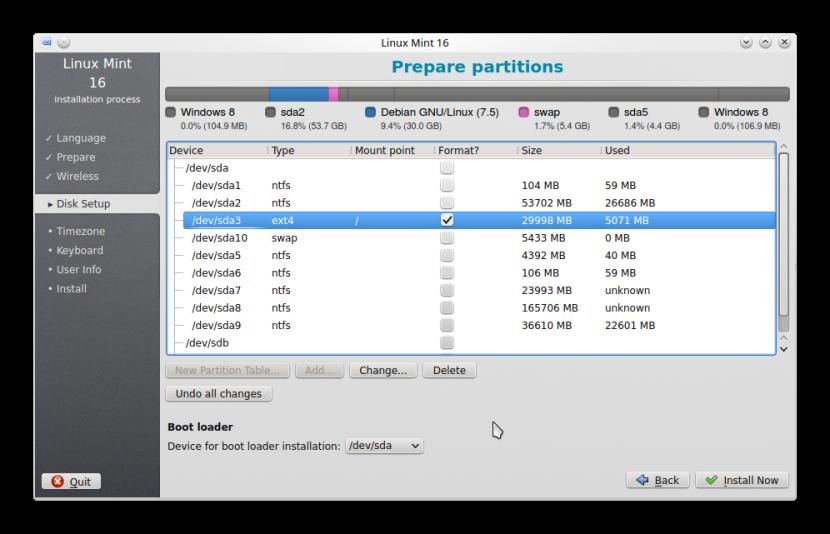 LINUX MINT 16 KDE INSTALLATION7
