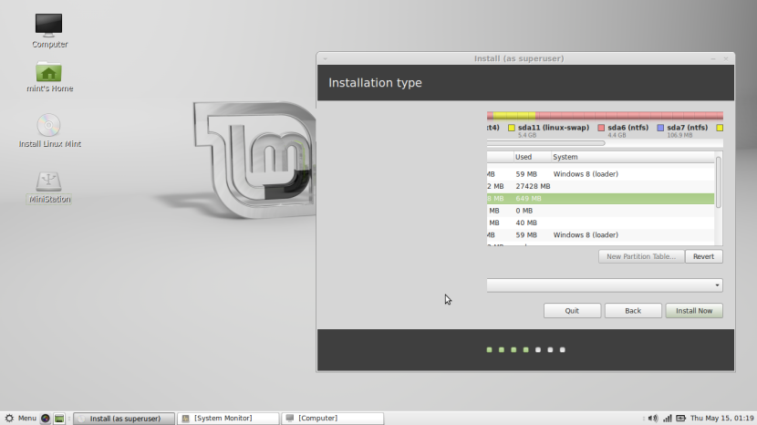 Linux Mint 16 MATE10