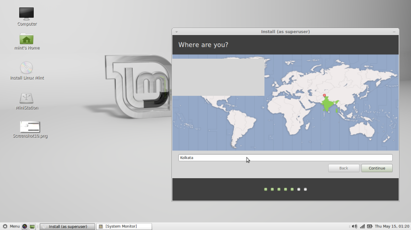 Linux Mint 16 MATE11