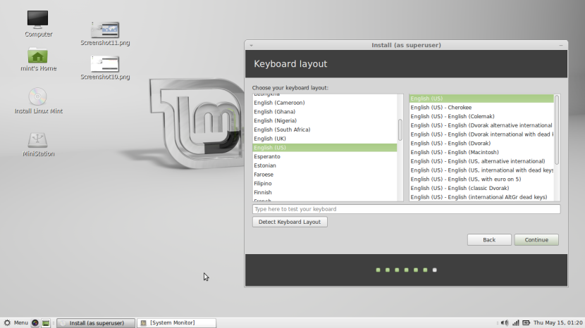 Linux Mint 16 MATE12