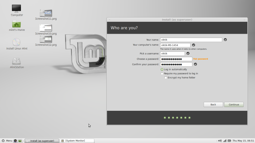 Linux Mint 16 MATE13