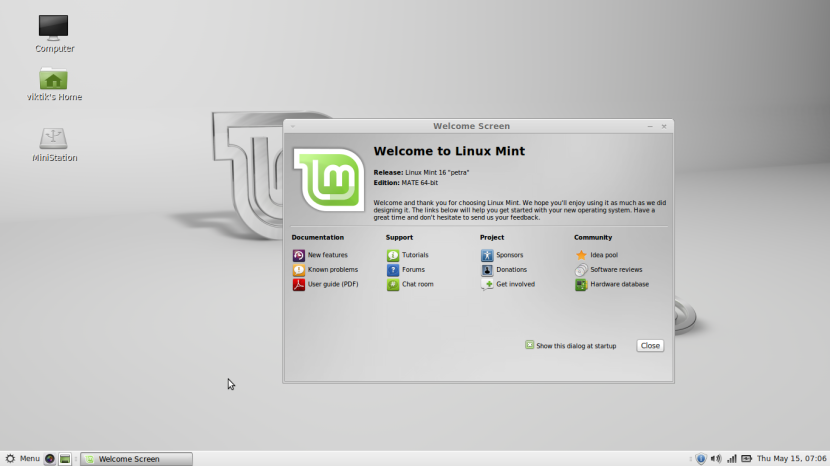 Linux Mint 16 MATE14