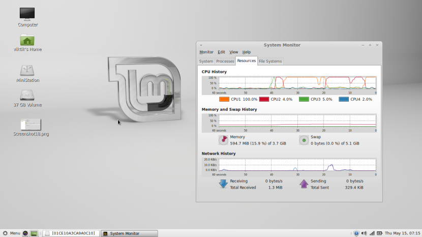 Linux Mint 16 MATE19