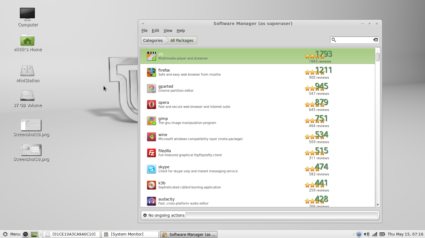 Linux Mint 16 Petra Mate Installation Configuration