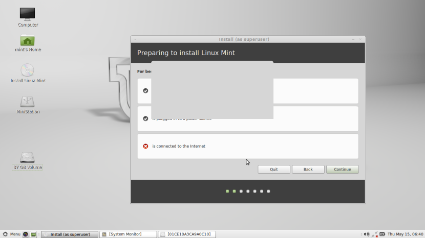 Linux Mint 16 MATE3