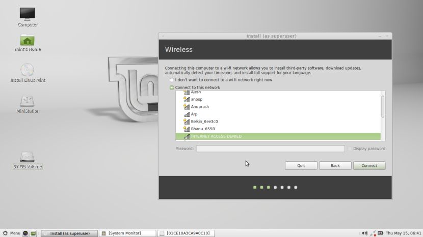 Linux Mint 16 MATE4