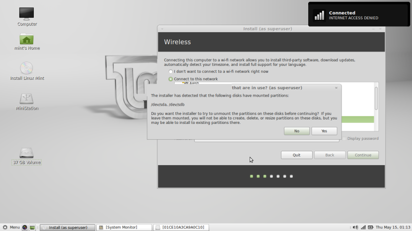 Linux Mint 16 MATE5