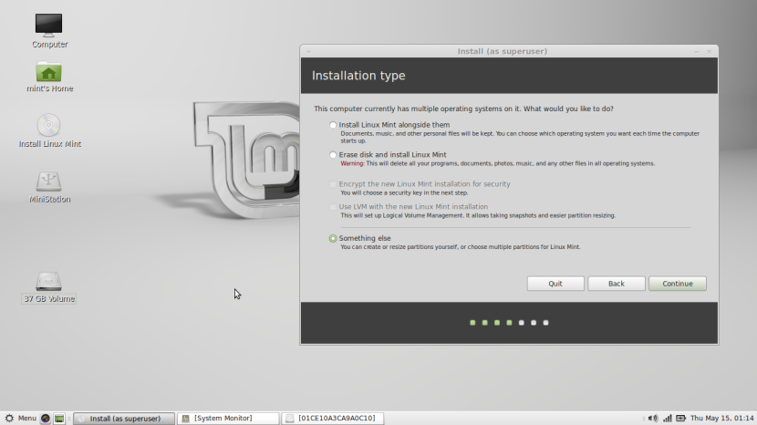 Linux Mint 16 MATE6