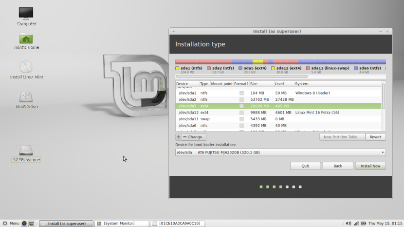 Linux Mint 16 MATE7