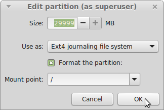 LINUX MINT 17 MATE Screenshot-Edit partition