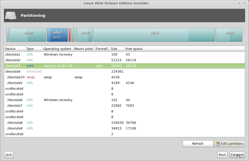 how to install a newhard drive on linux mint