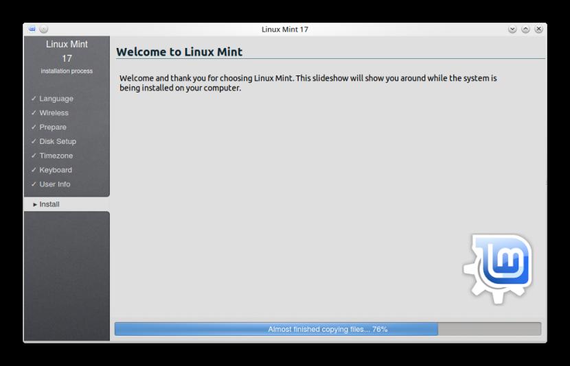LINUX MINT 17 KDE INSTALLATION 11
