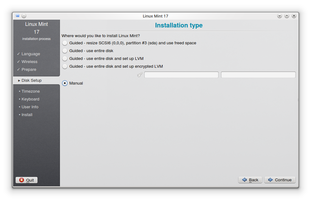 how to delete linux mint using partition tool