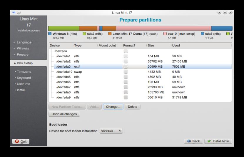 LINUX MINT 17 KDE INSTALLATION 5
