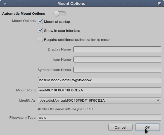 LINUX MINT 17 MATE Mount Options_017