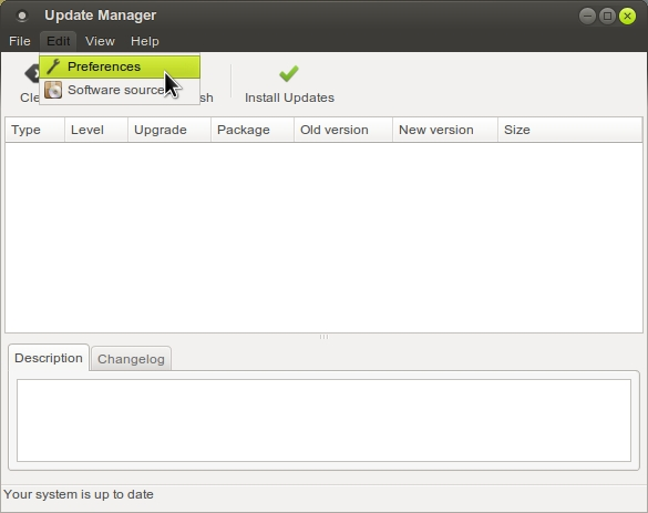 LINUX MINT 17 MATE Update Manager_003