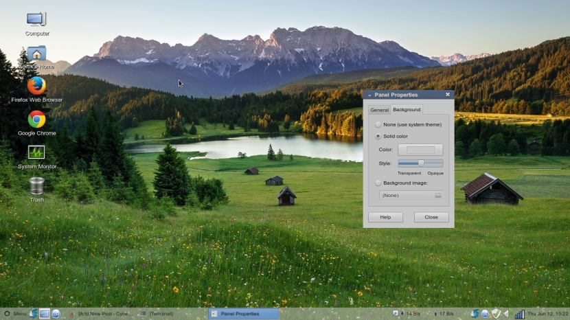 LINUX MINT 17 MATE Workspace 1_038