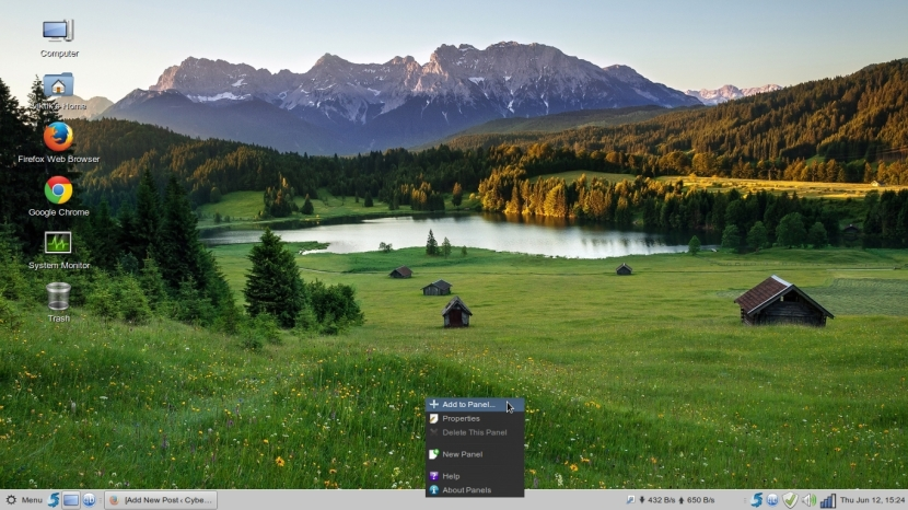 LINUX MINT 17 MATE Workspace 1_039