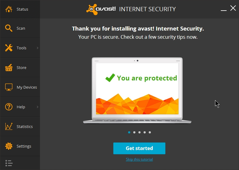 Avast Internet Security 2014 Ver 9 Review Settings