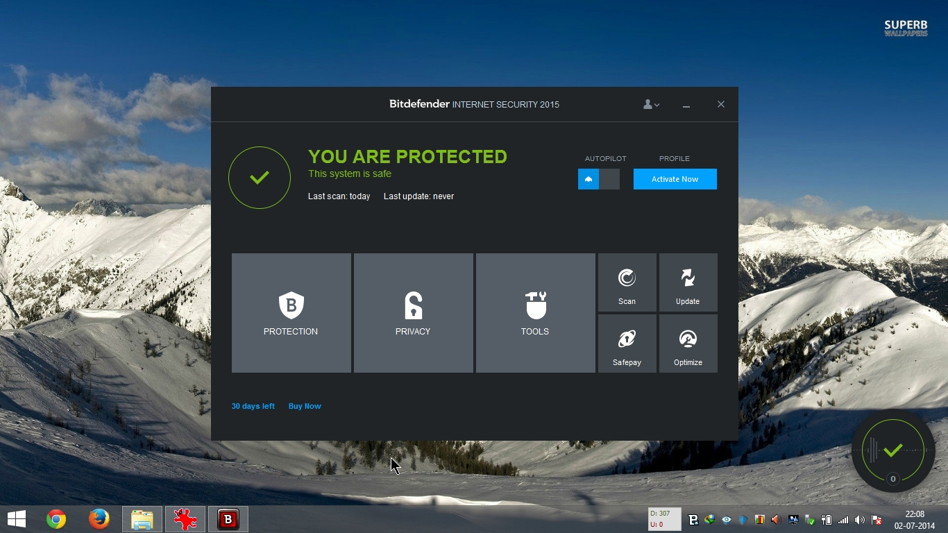 bitdefender internet security 2015 review settings. Black Bedroom Furniture Sets. Home Design Ideas