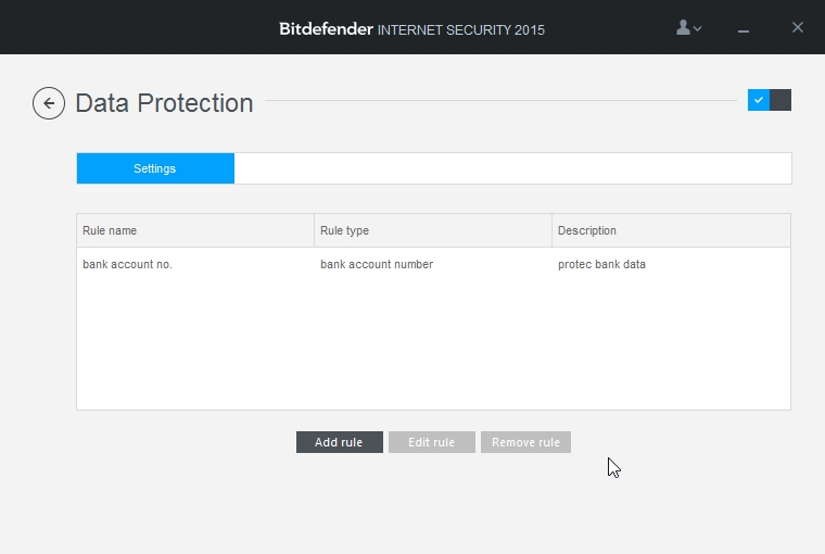 BITDEFENDER INTERNET SECURITY 2015 SETTINGS DATA PROTECTION_10-04-2015_22-59-40