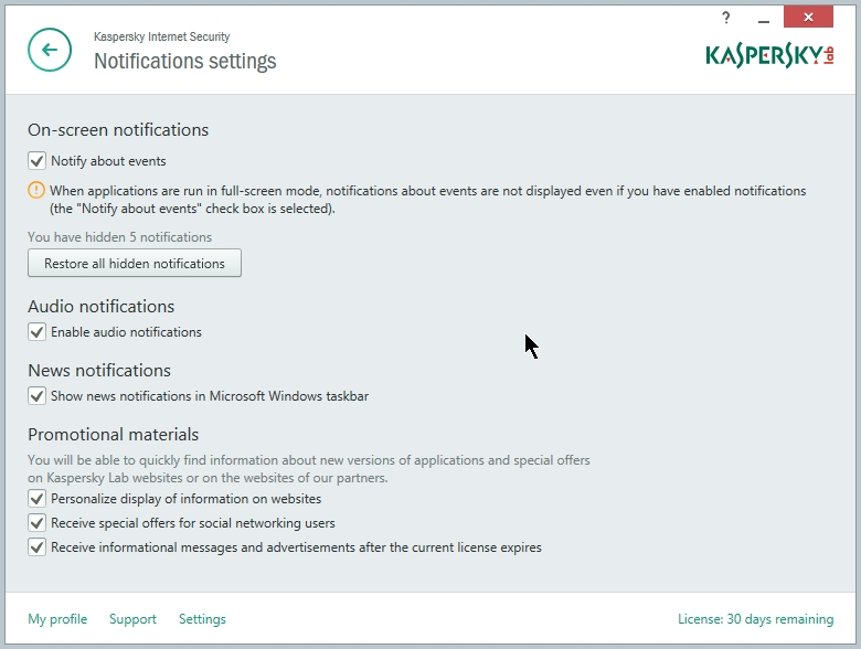 KASPERSKY INTERNET SECURITY 2015 SETTING 045_07072014_225008