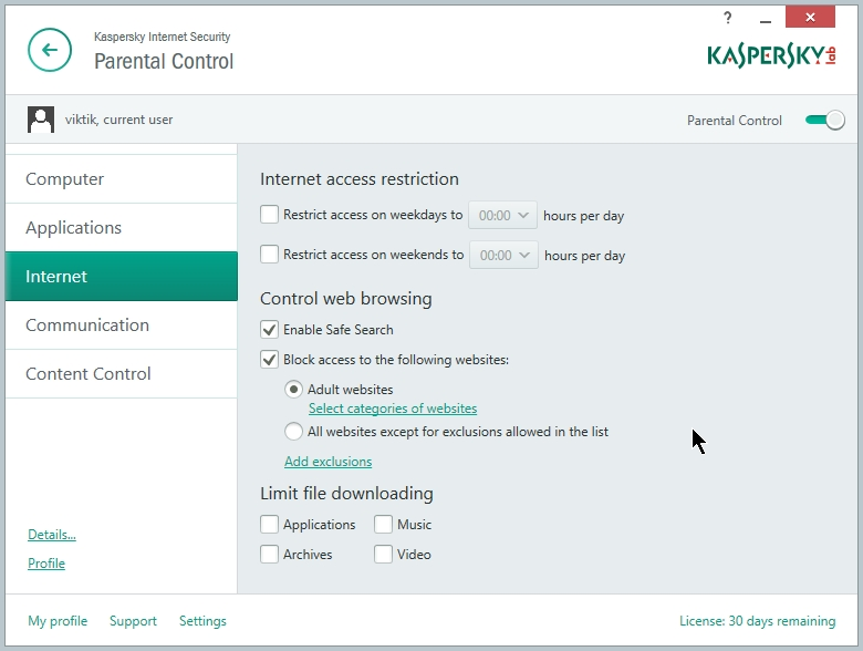 KASPERSKY INTERNET SECURITY 2015 SETTING 055_07072014_225130